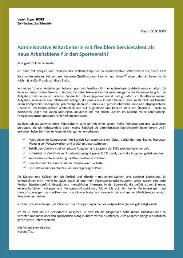 1 Administrative Mitarbeiter m_w - flexibel und mit Servicetalent