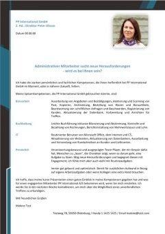 Administrativer Mitarbeiter m/w sucht neue Herausforderungen