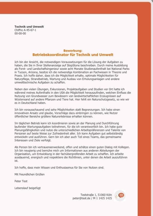 1 Betriebskoordinator_in für Technik und Umwelt