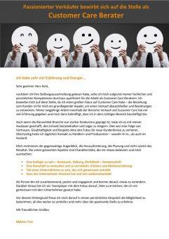 Customer Care Berater m/w