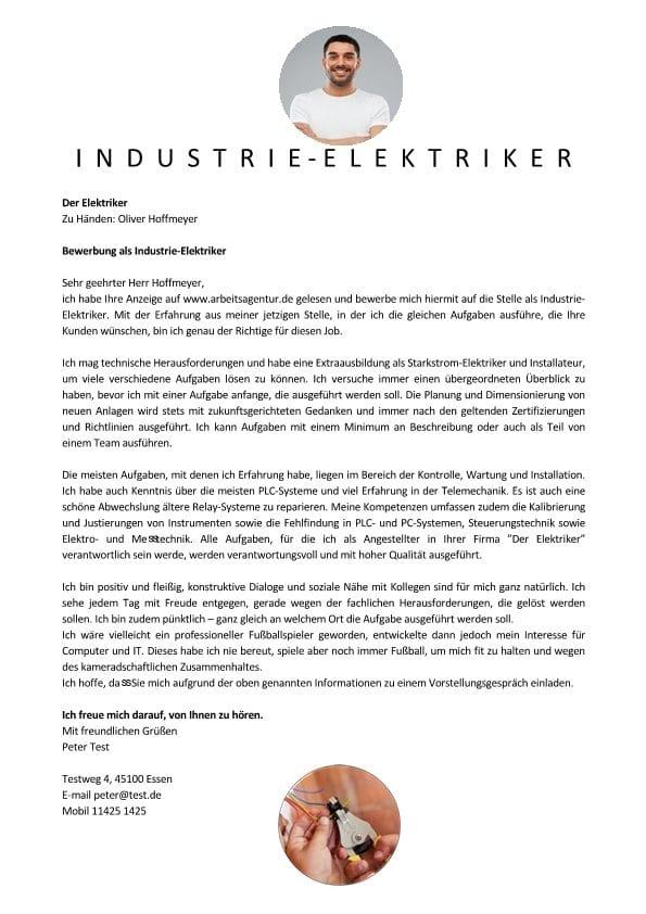 1 Industrie-Elektriker