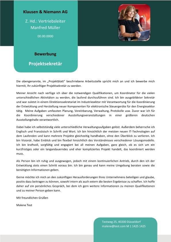 1 Projektsekretär_in – Komponenten für elektronische Steuergeräte
