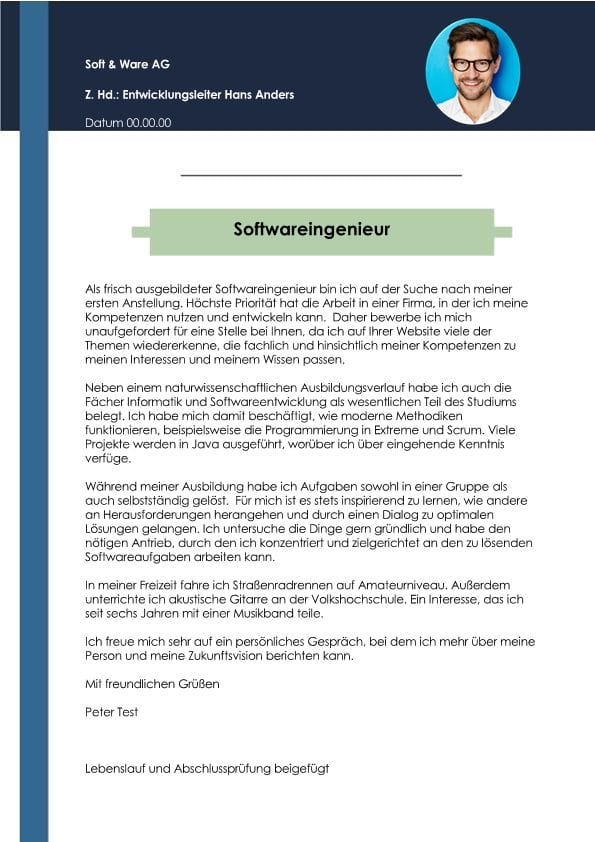 1 Softwareingenieur_in Berufsanfänger_in