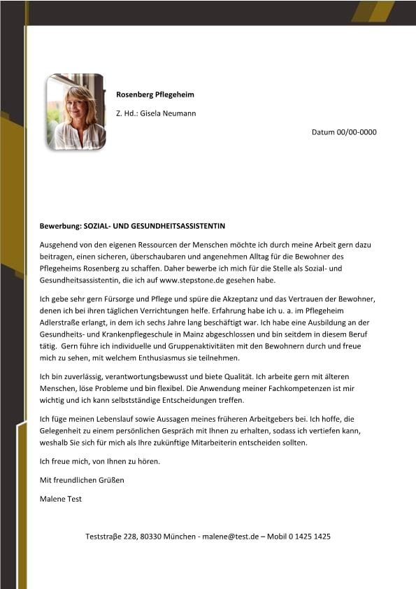 Soziales und Gesundheit Arkiv - CV & Bewerbung