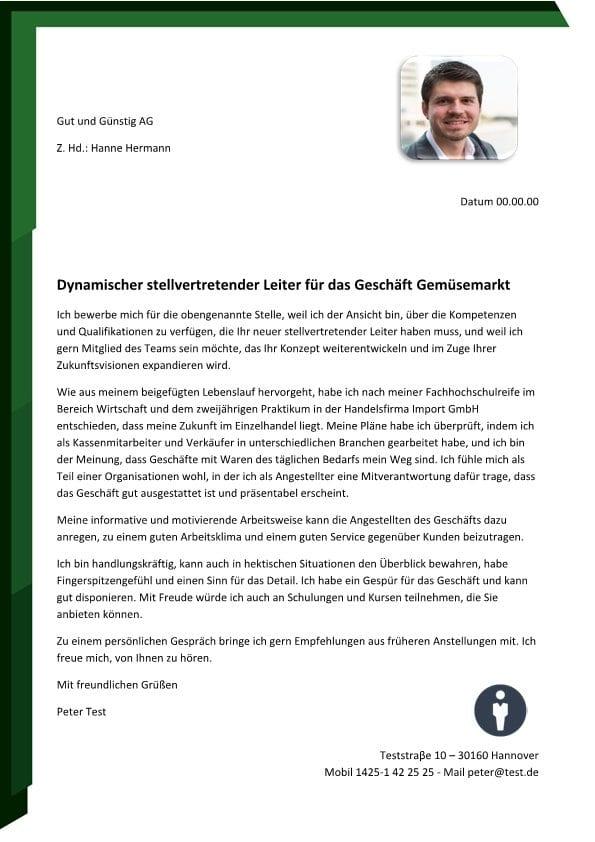 Stellvertretender Leiter m/w – Grosshandel