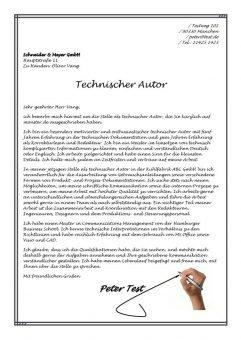 Technischer Autor m/w
