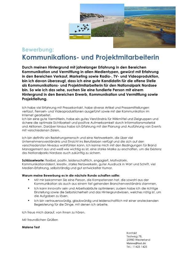 Kommunikations- und Projektmitarbeiter m/w