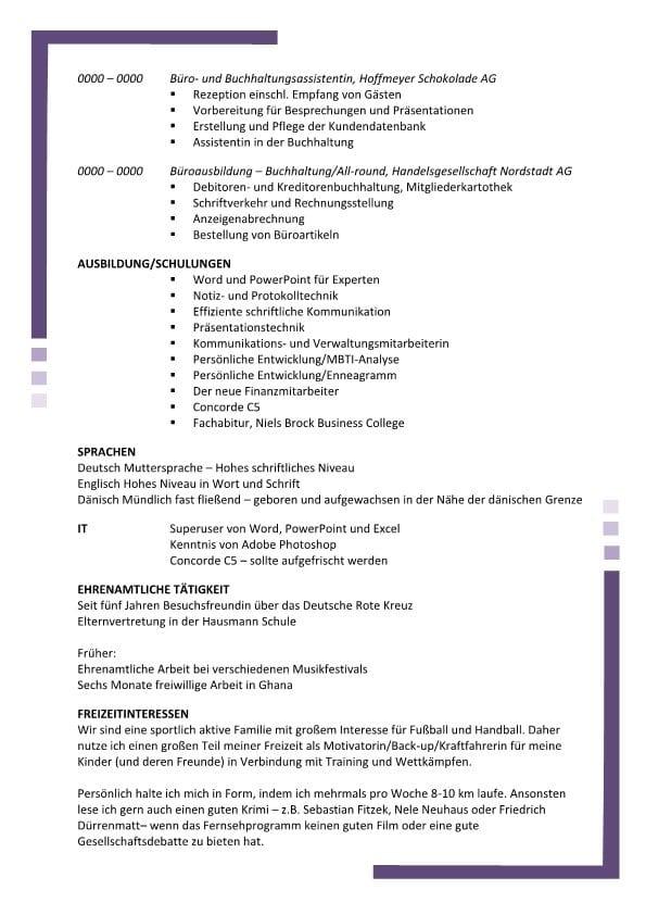 Fantastisch Büro Lebenslauf Bilder - Entry Level Resume Vorlagen ...