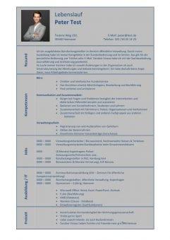 1 Lebenslauf-Kompetenzen-Büro-Kommunikation-Verwaltung-blau