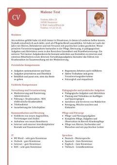 1 Lebenslauf-Kompetenzen-mit-fachlichen-Kompetenzen-rot
