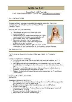 1 Lebenslauf-mit-persönlichen-Profil-Schlüsselwörtern-braun