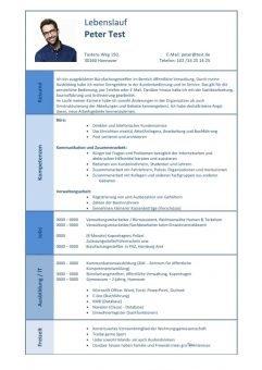 1 Lebenslauf-Kompetenzen-Büro-Kommunikation-Verwaltung