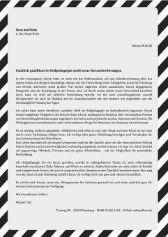 1 Heilpädagoge_in sucht neue Herausforderungen